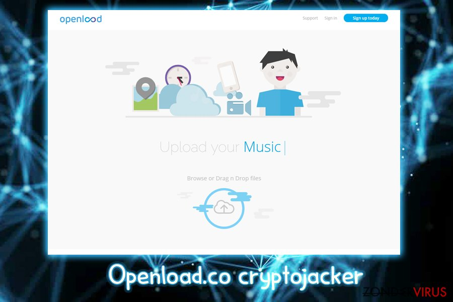 De Openload.co crypto-jacker