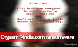 Het Orgasm@india.com ransomware virus