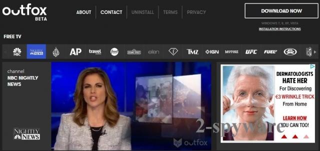 Outfox TV snapshot