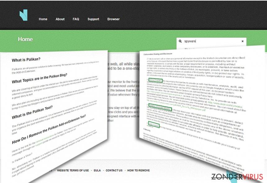 Palikan.com doorverwijzingen snapshot