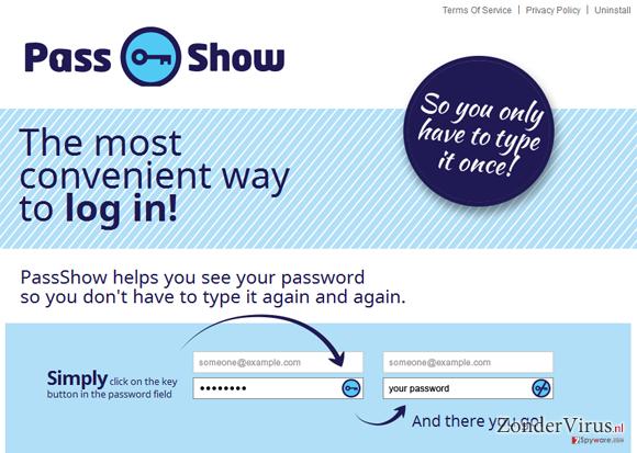 PassShow ads snapshot