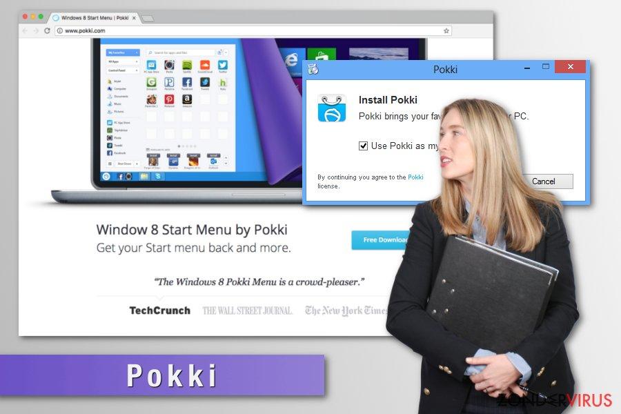 Foto van het Pokki-virus