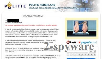 Politie Nederland virus snapshot