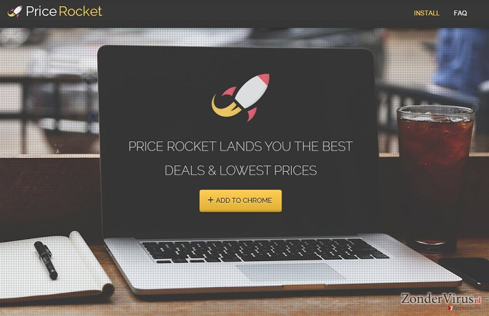 Price Rocket advertenties snapshot