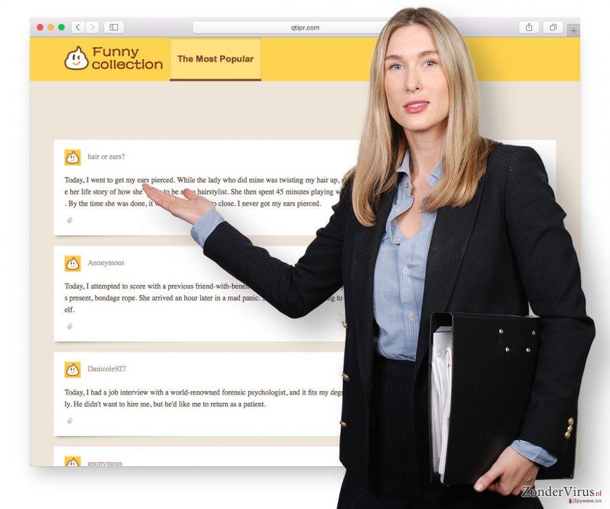 Voorbeeld van Qtipr.com