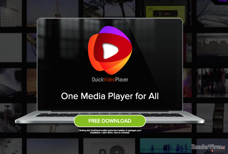 QuickVideoPlayer advertenties snapshot