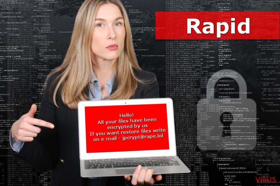 De Rapid-gijzelsoftware