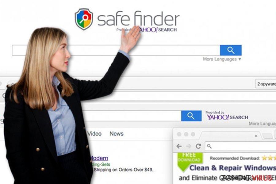 Safe Finder virus snapshot
