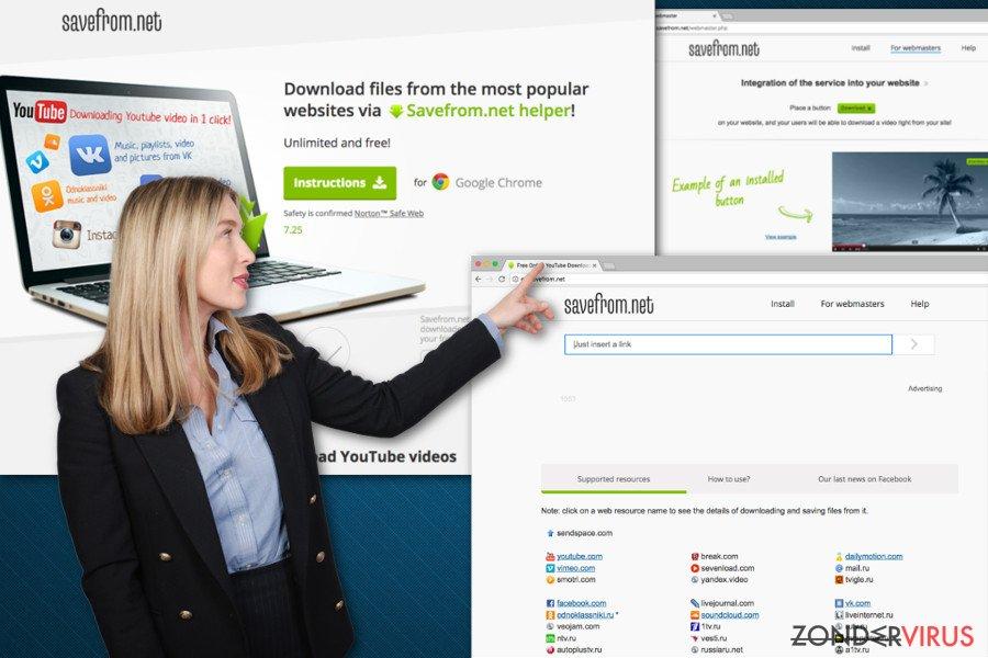 Afbeelding van SaveFrom.net helper