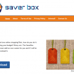 Saver Box ads snapshot
