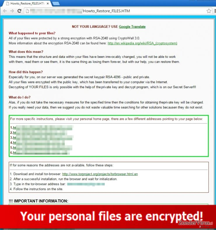.xxx File Extension Trojan sends a message asking for a ransom