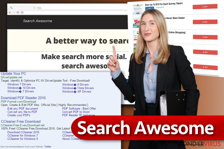 Het Search Awesome virus