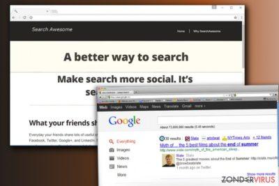 De Search Awesome hijack