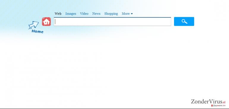 Search.genieo.com virus snapshot