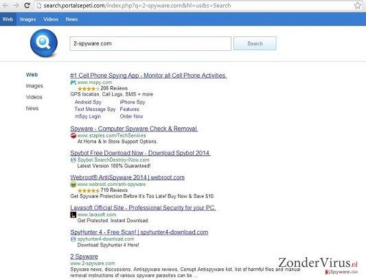 Search.Portalsepeti.com snapshot