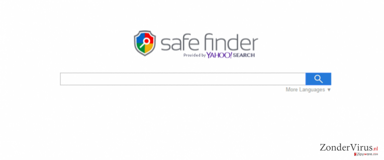 Search.SafeFinder.com snapshot