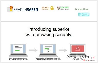 Search Safer virus snapshot