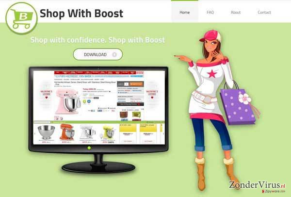 Shop with Boost virus snapshot