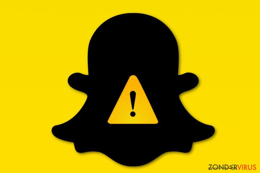 Snapchat virus foto