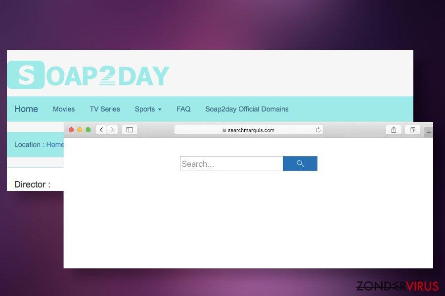 Soap2Day kan browser-kapers verspreiden