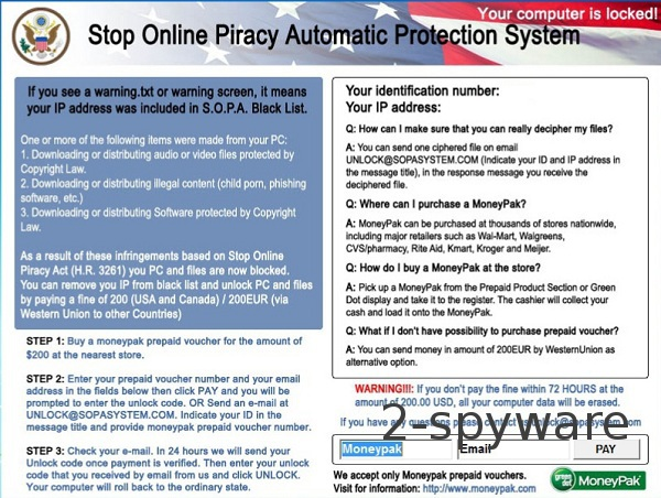 SOPA virus snapshot