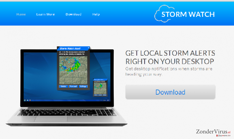 StormWatch advertenties snapshot