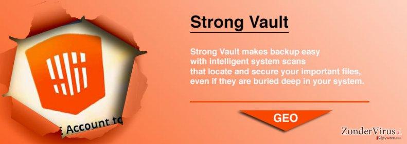 StrongVault Online Backup snapshot