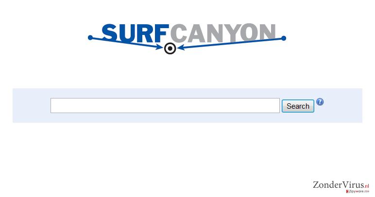 Surf Canyon snapshot