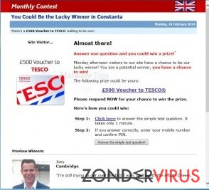 Online Surveys Center virus