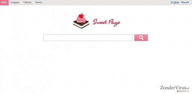 Sweet-page.com snapshot