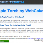 Topic Torch snapshot