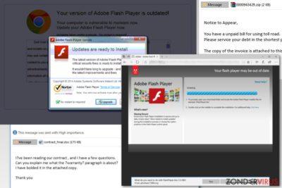 Afbeelding van de Torpig malware