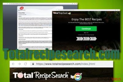 Totalrecipesearch