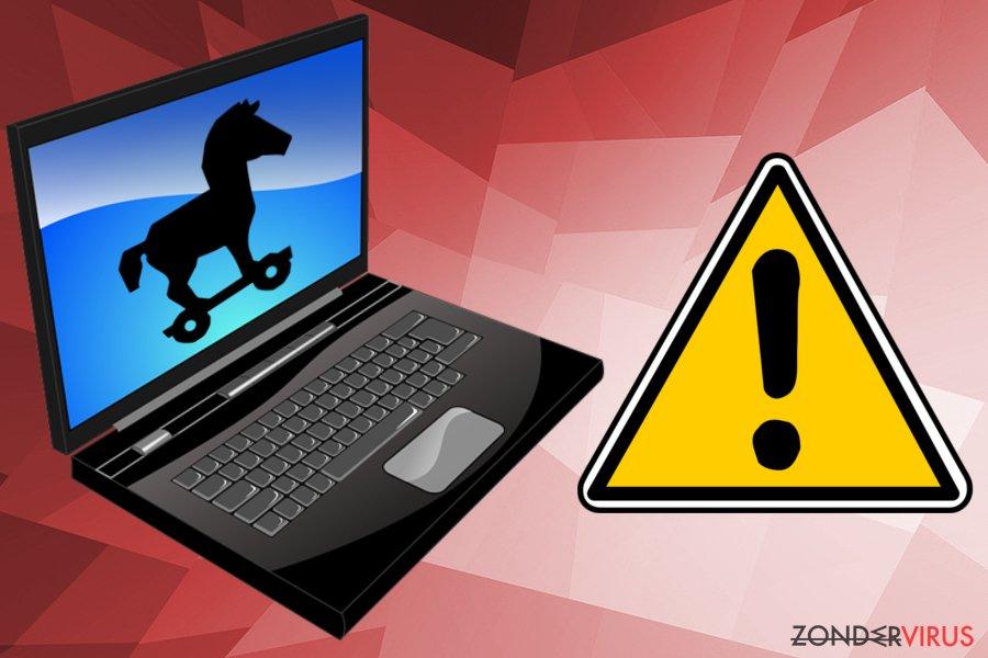 Het Trojan win32/Tiggre!rfn-virus