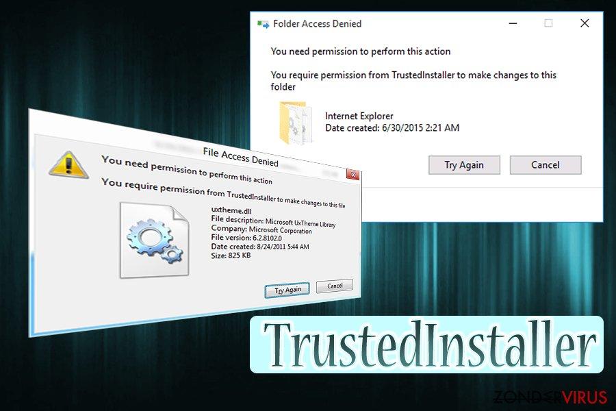 Het TrustedInstaller virus