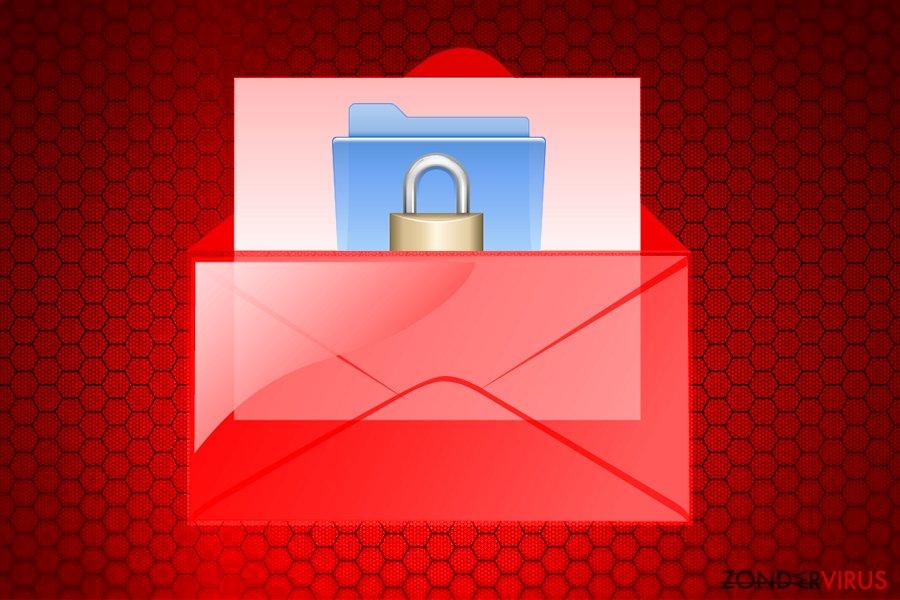 Wallet-gijzelsoftware-virus snapshot