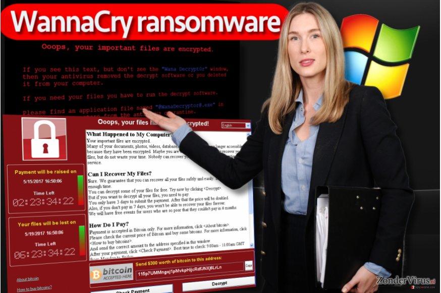 WannaCry-gijzelsoftware