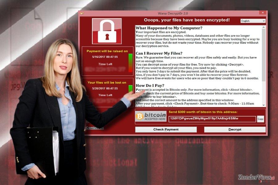 Wannacry 3.0 en de losgeldbrieven van Wannacry