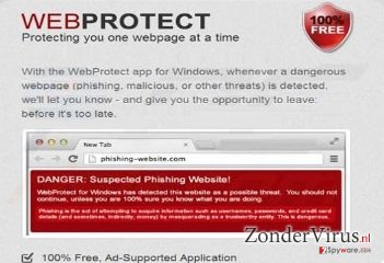 Web Protect virus snapshot