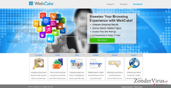 WebCake snapshot