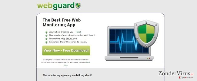 Web Guard virus snapshot