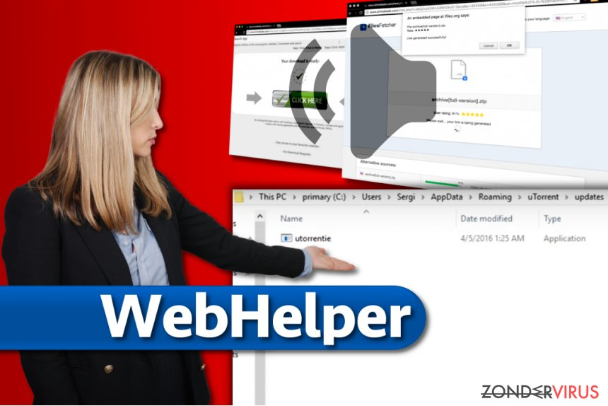 Het WebHelper-virus