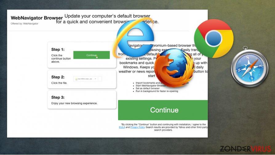 WebNavigatorBrowser-kaper