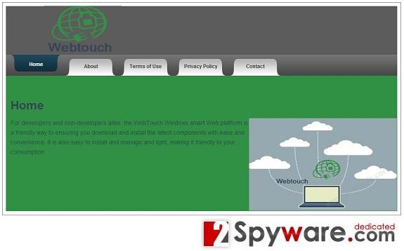 Webtouch virus snapshot