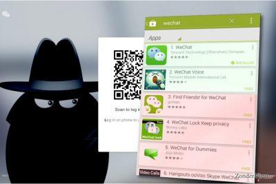 Het WeChat-virus