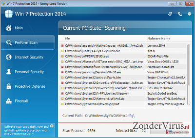 Win 7 Protection 2014 snapshot
