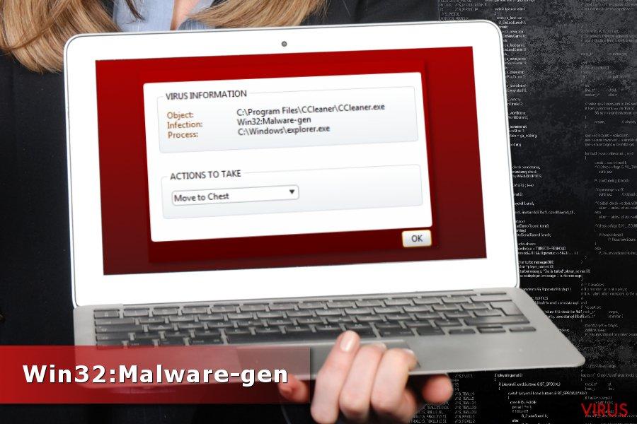 Win32:Malware-gen detectie