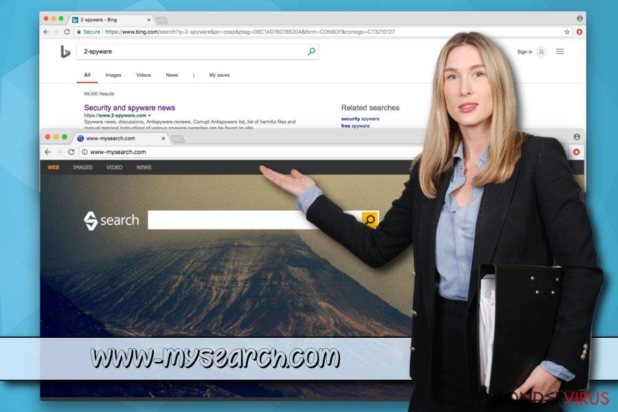 Het mogelijk ongewenste programma www-mysearch.com