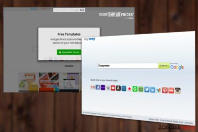Your Template Finder Toolbar