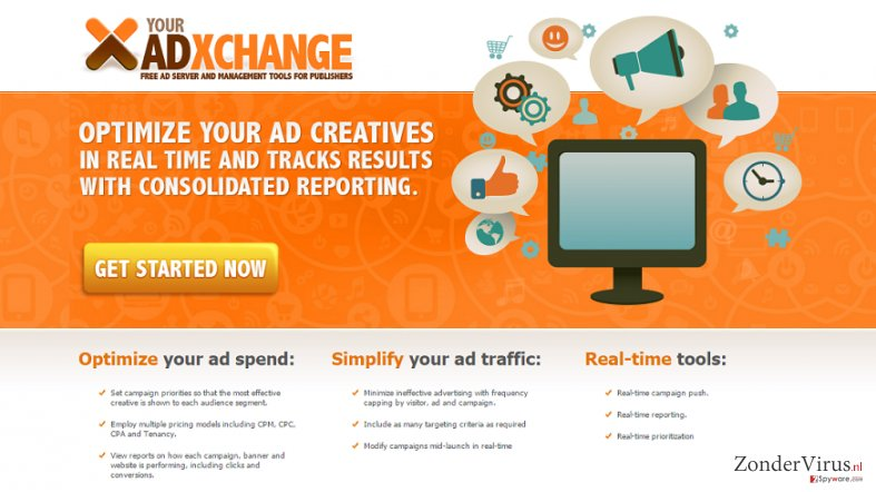 YourAdExchange.com pop-up advertenties snapshot